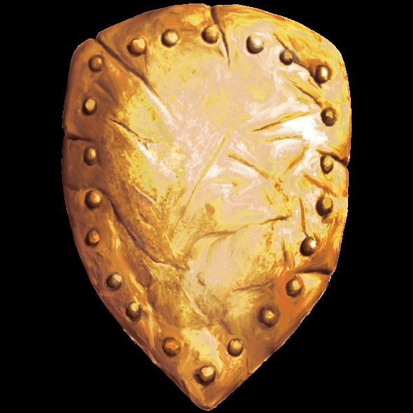 zlatni štit